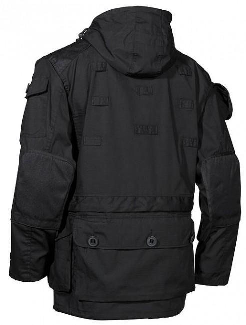 MFH commando kabát Rip-Stop fekete - ArmyMarket c6614c1c59