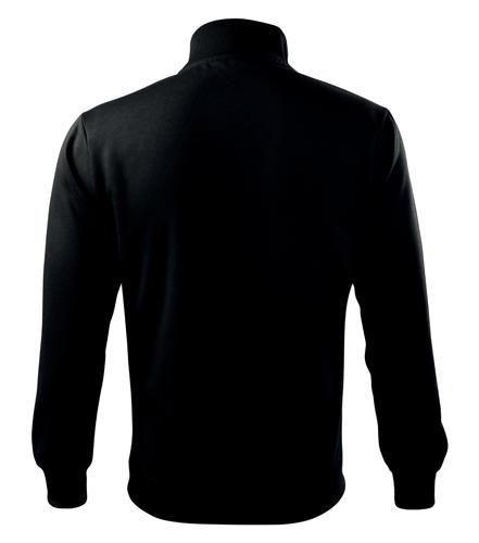 Férfi pulóver Adler Adventure fekete színben hátulról 0990090326