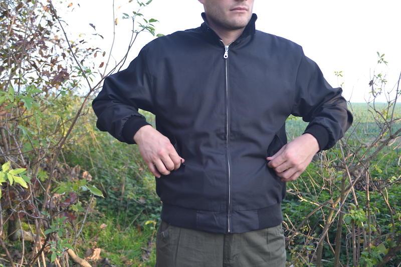 Pro Company Harrington angol stílusú dzseki fekete  c5f319bcaf