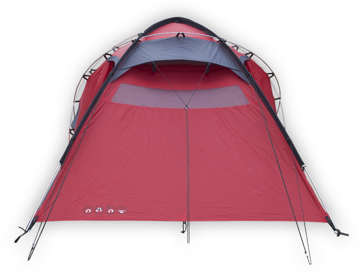 b5a7269b4099 Husky Extreme Felen 3-4 sátor, piros   ArmyMarket