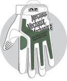 Mechanix M-Pact ütésálló kesztyű fekete