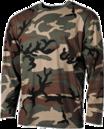 Terepmintás hosszúujjú pólók