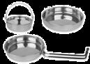 Rozsdamentes acél és alumínium tárolók és ételhordók