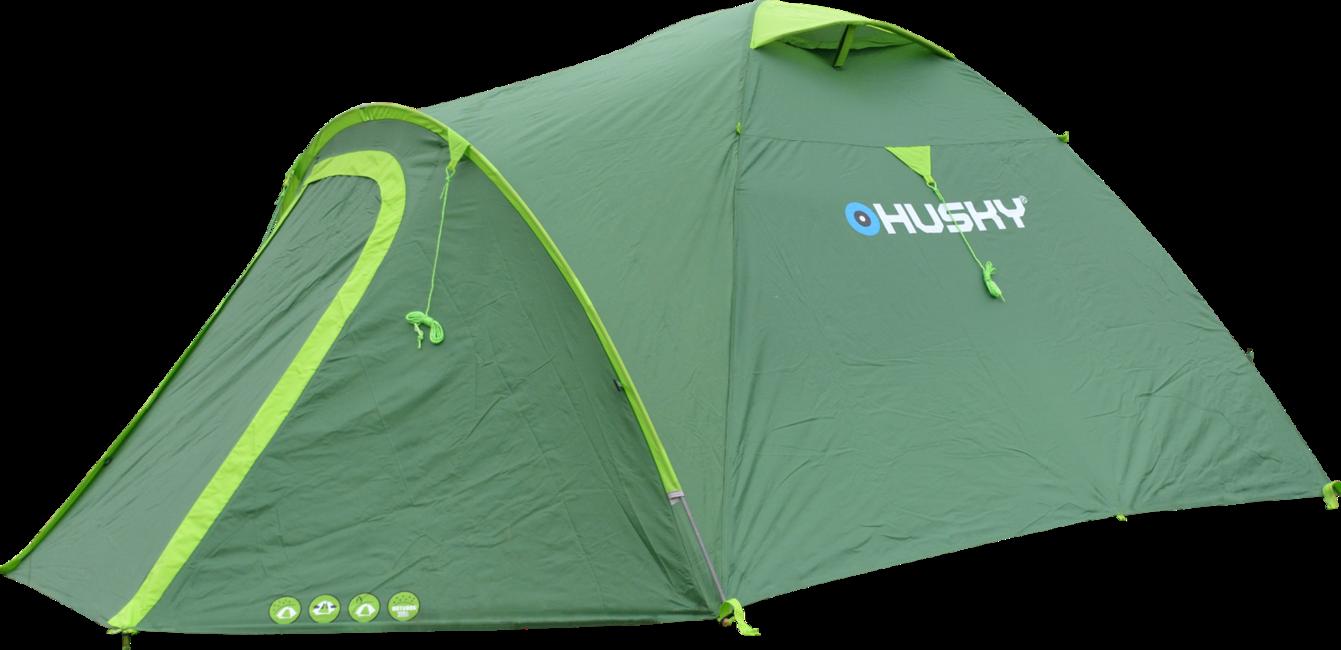 a272b24c7579 ... Husky Outdoor Bizon 4 Plus sátor, világoszöld. Tekintse meg a nagy képet