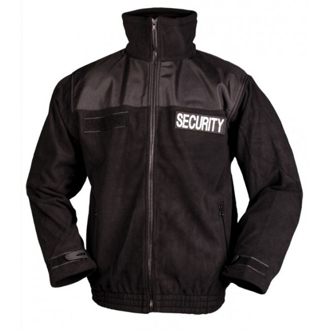 6d9d18b57685 Éppen most 7 vásárló nézi Mil-Tec Security polár pulóver, fekete. Tekintse  meg a nagy képet