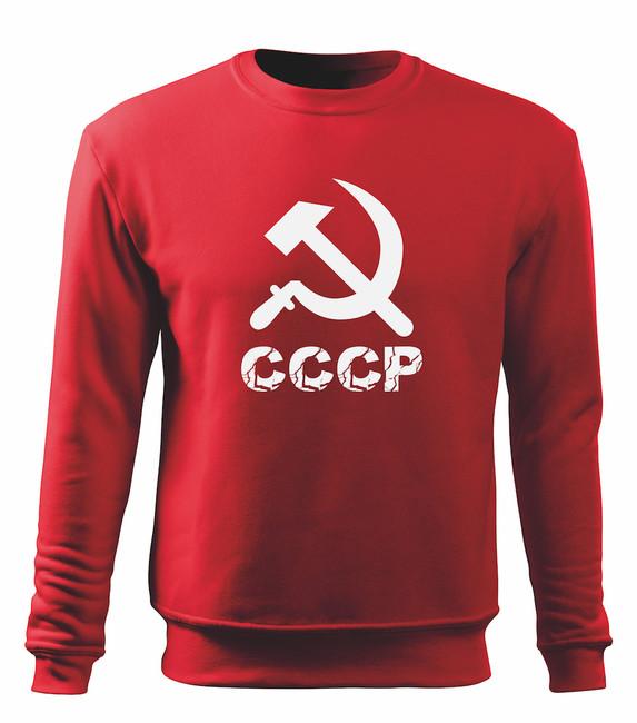 8cf9bc11a3 ... O&T férfi pulóver cccp, piros, 300g/m2. Tekintse meg a nagy képet