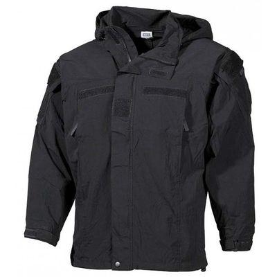 MFH U.S. soft shell kabát fekete - level5