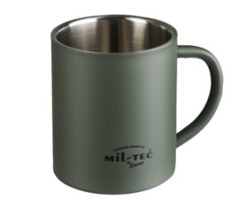 Mil-Tec duplafalú csésze, 450 ml