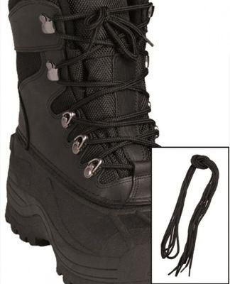 Mil-Tec Co cipőfűző, fekete 180cm