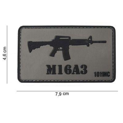 "M-Tramp PVC címke ""M16A3"""