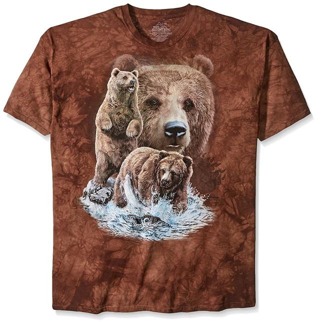 Éppen most 3 vásárló nézi The Mountain 3D póló 10 medvék. Tekintse meg a  nagy képet 3d33fc3dff