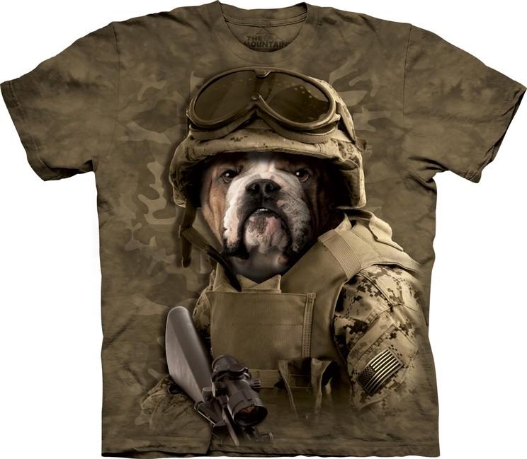 Éppen most 10 vásárló nézi The Mountain 3D póló katonai kutya. Tekintse meg  a nagy képet 8dc0e7e75b