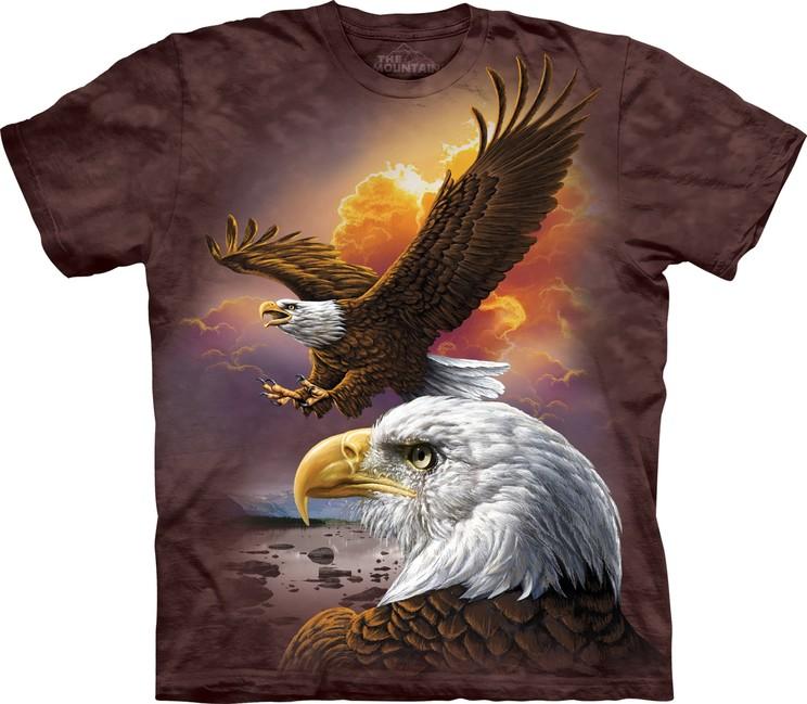 Éppen most 1 vásárló nézi The Mountain 3D póló sas. Tekintse meg a nagy  képet fc745dbe55